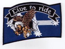 Eureka Eagle LTR Flag Patch