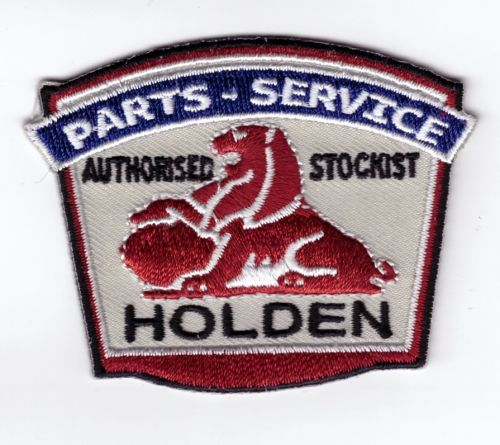Holden Parts - Service Embroidered cloth Patch