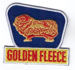 Golden Fleece Sign Embroidered Patch