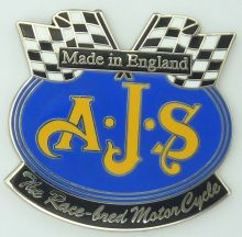 AJS Flags Lapel Pin / Badge