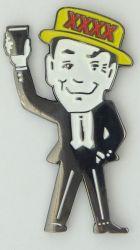 XXXX Iconic 4 X Man Lapel Pin / Badge