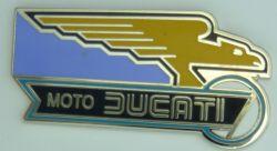 Ducati Eagle Lapel Pin / Badge