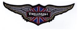 Triumph Wings Patch