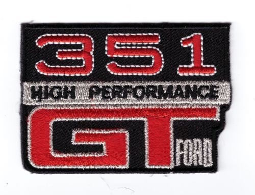Ford GTHO 351 Embroidered Patch