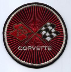 Corvette Round patch