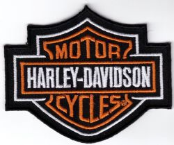 American Muscle Embroidered Cloth Patch
