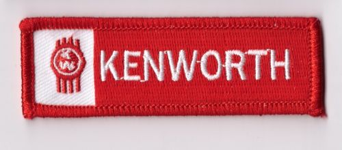 Kenworth Oblong Red Patch