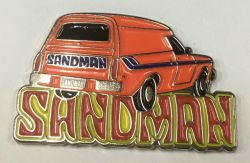 Holden Sandman Panel Van metal Badge/Lapel pin