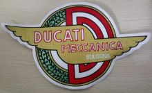Ducati Meccanica Back Patch