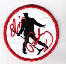 Elvis Silhouette Patch