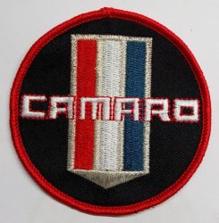 Camaro Round Patch