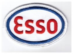 ESSO Oval Patch