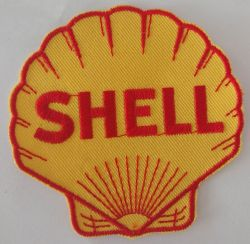 Shell Logo Oil Petroleum Gas Clam Patch