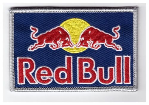 Red Bull Embroidered Cloth Patch