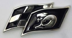 Holden Maloo 2Flag Badge/Lapel Pin