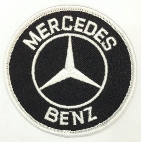 Mercedes Round Patch