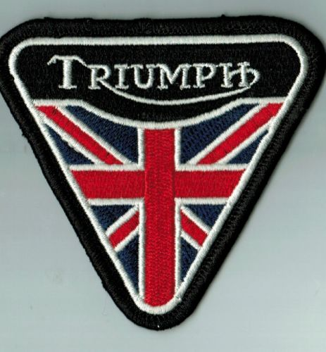 Triumph Old Triangle Flag Patch