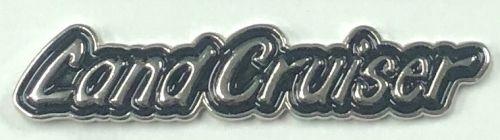 Landcruiser Script Lapel-Pin/Badge