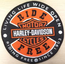 American Muscle Ride Free Back Patch