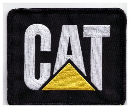 CAT Embroidered Cloth Patch