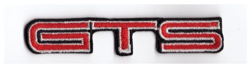 GTS Embroidered Cloth Patch