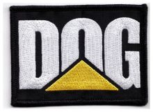 DOG Embroidered Cloth Patch