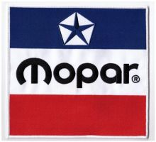 Mopar 3 Colour Large Back Patch