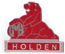 Holden Lion Back Patch
