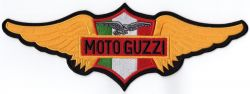 Moto Guzzi Back Patch