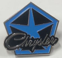 Chrysler Pentastar Badge/Lapel-pin