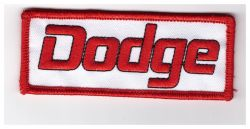 Dodge Red Rec Embroidered Cloth Patch