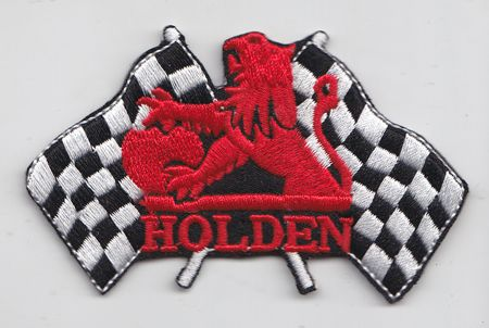 Holden Flags Patch