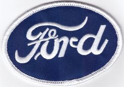 Ford RS Oval Embroidered Patch
