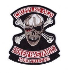 Cripple Old Biker Bastards MC Patch
