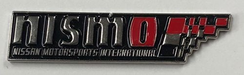 Nismo Nissan Racing Metal Lapel-pin/Badge