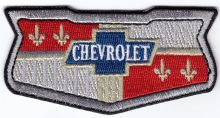 Chevrolet Retro Shield embroidered cloth Patch