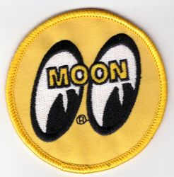 Mooneyes embroidered patch