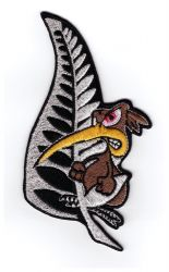 Kiwi Angry Bird embroidered cloth Patch