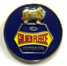 Golden Fleece Retro Lapel-Pin/Badge