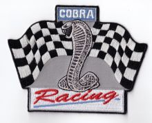 Cobra Shelby Ford Racing embroidered cloth Back Patch