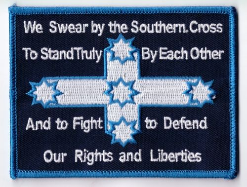 Eureka True Saying embroidered cloth Patch