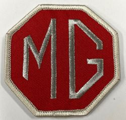 MG Red Patch