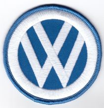 VW Blue Round patch