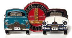 FJ/FX  Holden Duo Metal Badges/Lapel-pins