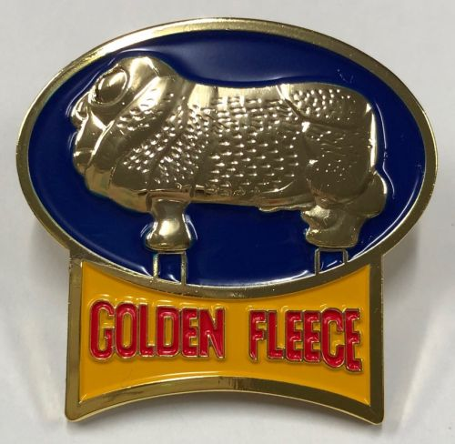 Golden Fleece Sign Metal Badge/Lapel-pin