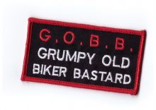 GOBB Biker Embroidered cloth Patch
