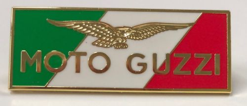 Moto Guzzi Tri Colour Badge