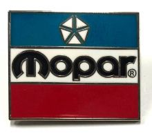 Mopar 3 Colour  Lapel Pin / Badge