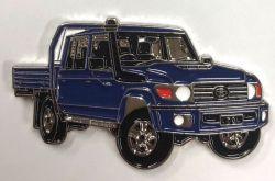 Landcruiser 70 series Double Cab Ute Badge/Lapel-pin