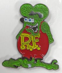 Ratfink the Rat Badge/Lapel-pin